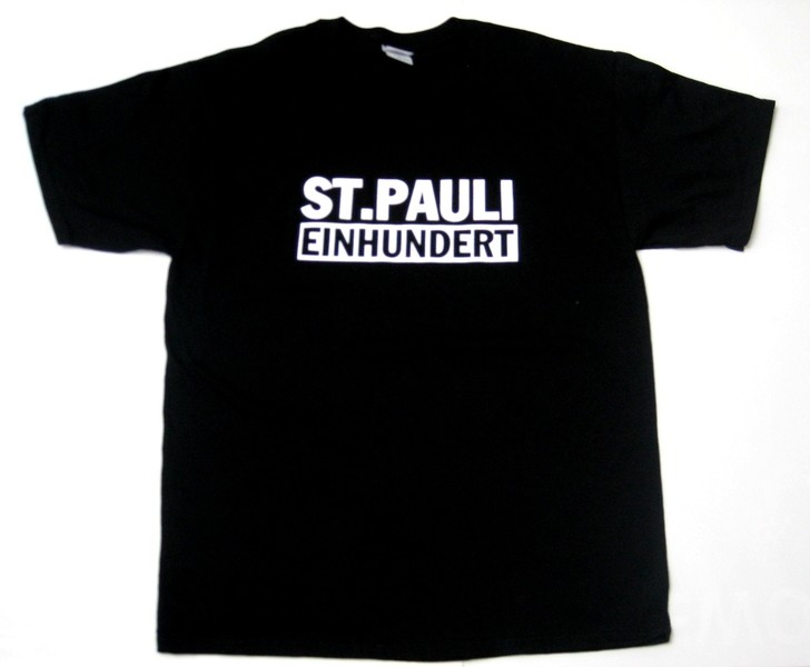 st pauli einhundert t shirt. Black Bedroom Furniture Sets. Home Design Ideas