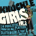V/A. -Knuckle Girls Volume 2 (14 PUGILISTIC PLATTERS FROM THE ONLY GLITTER GIRLS THAT MATTER) (Angry Young Woman Records) LP